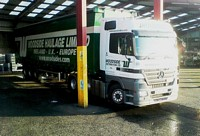 Mercedes Haulage Truck Picture