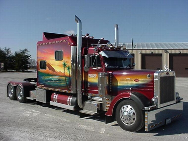 Buffalo Springfield Paint Job Truck Picture