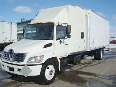 2007 Hino 338 Expeditor Hotshot Truck Picture
