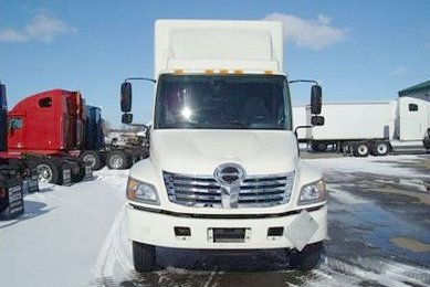 2009 Hino 338 Expeditor Hotshot Truck Picture
