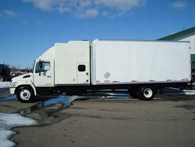 2007 Hino 338 Expeditor Hotshot Front View Truck Picture