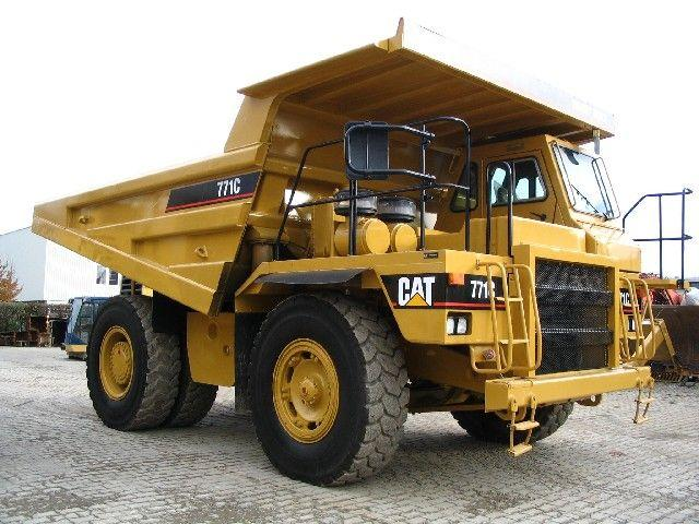 1994 Caterpillar 771C  Truck Picture