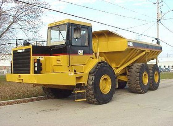 1998 Caterpillar D400E Truck Picture