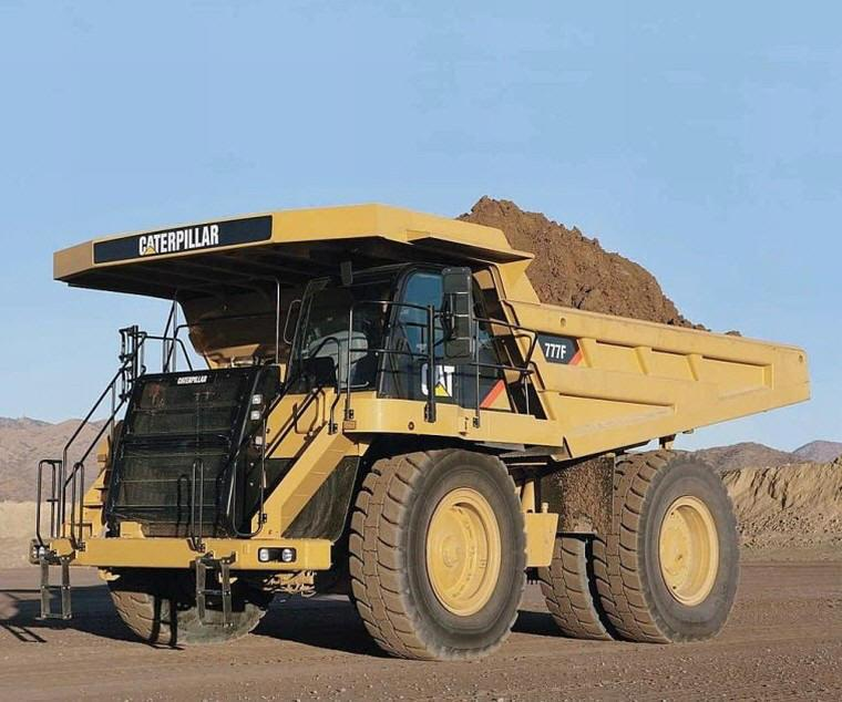 2009 Caterpillar 777F Truck Picture