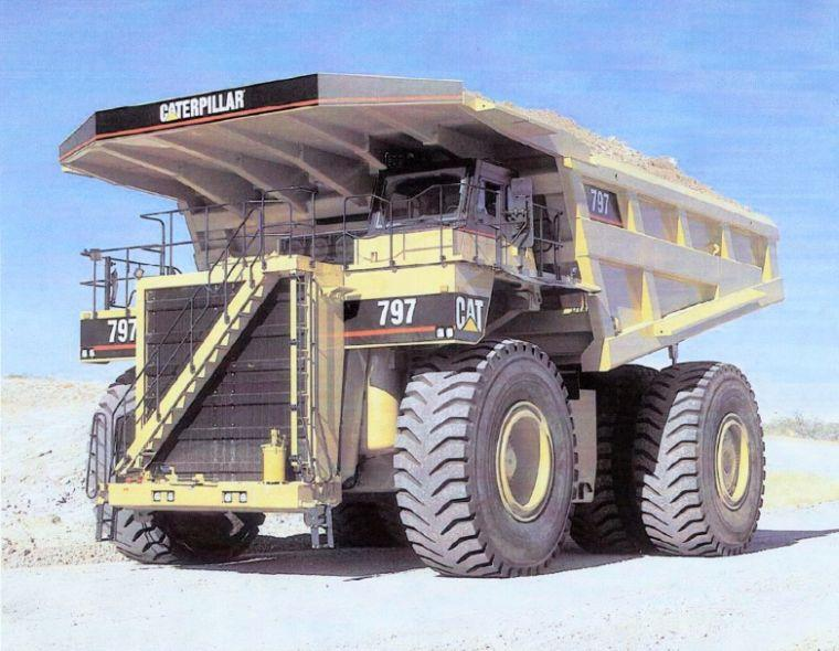Caterpillar 797 Mining Truck Picture