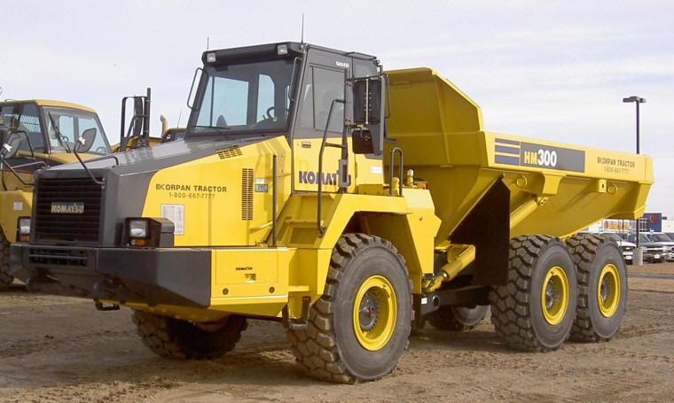 Caterpillar Korpan HM300 Truck Picture
