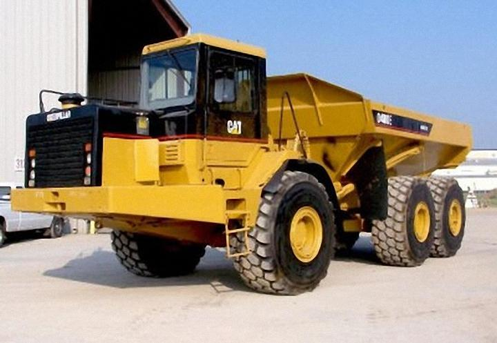1999 Caterpillar D400E Truck Picture