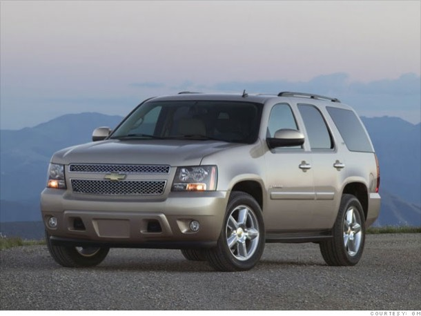 Front Left 2010 Chevrolet Avalanche Tahoe Truck Picture
