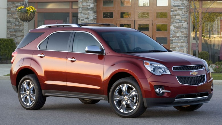 Front Right 2011 Chevrolet Equinox Truck Picture