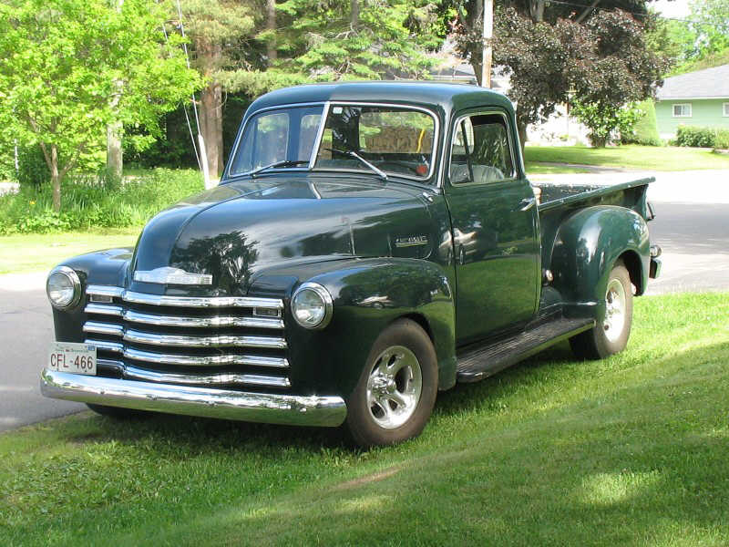 1951 Chevrolet 3100 Pickup Truck Picture