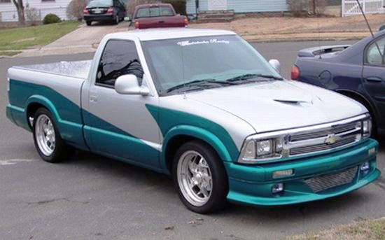 1995 Chevrolet S10 Truck Picture