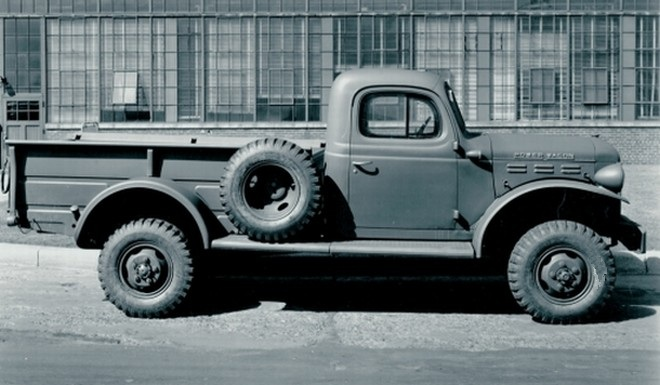 Right Side 1951 Dodge Ram Power Wagon Truck Picture