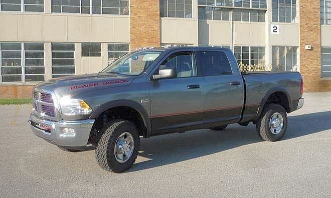 Front Left 2010 Dodge Ram Power Wagon Truck Picture