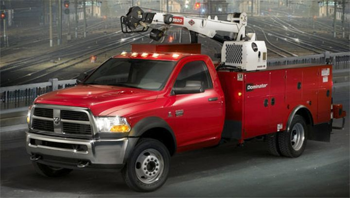 Front Left 2010 Dodge Ram HD Pickup Truck Picture