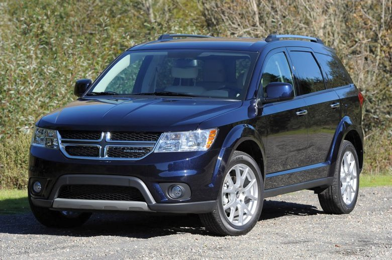 Front Left 2012 Dodge Journey CUV Picture
