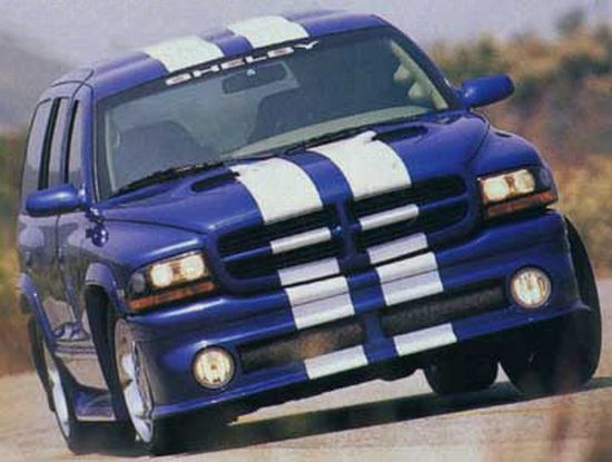 2001 Dodge Shelby Durango Truck Picture