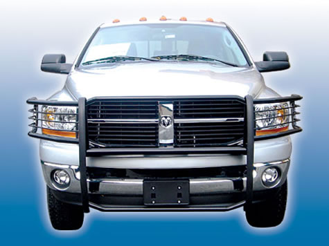 Front view white 2005 Dodge Ram Truck Picture