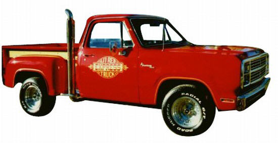 Dodge Lil Red Express Truck Picture