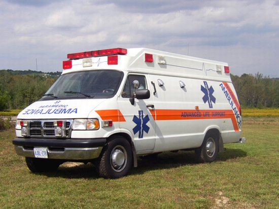 Dodge Ram Ambulance Van Picture