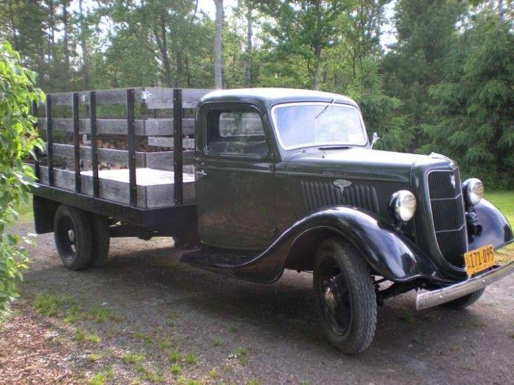 Front Right 1935 Ford Model 50 Truck Picture