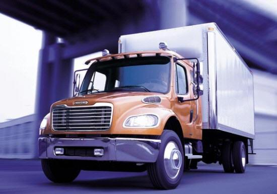 Front Left Freightliner M2 Truck Picture