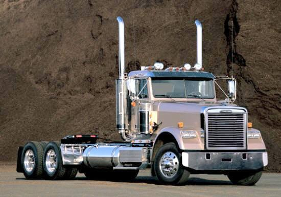 Front Right Freightliner Classic Truck Picture