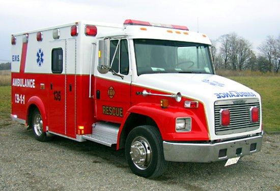 Freightliner FL50 Ambulance Picture