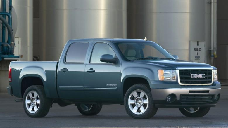 Front Right 2011 GMC Sierra Truck Picture