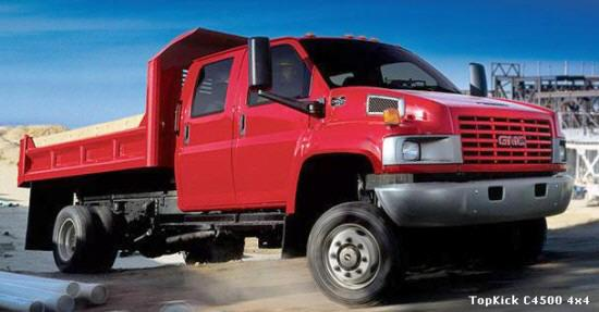 2005 GMC CS450 Truck Picture