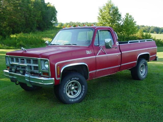 1978 GMC High Sierra Truck PIcture
