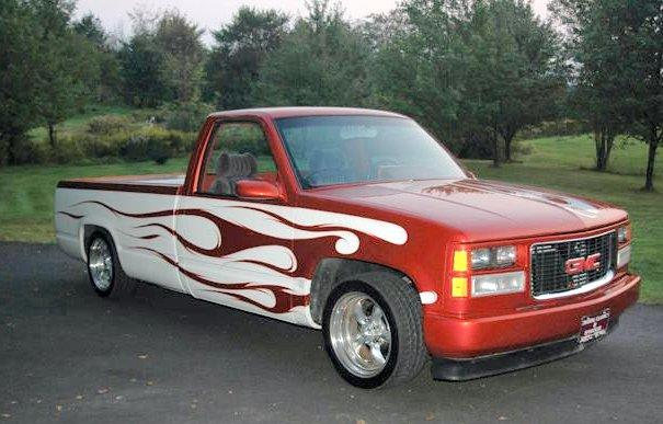 1988 GMC Lowrider Truck Picture