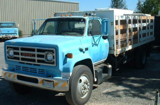 1987 GMC Flatbed Truck Picture