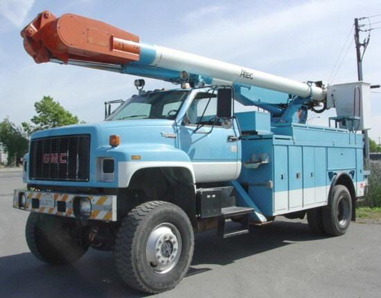 1992 GMC Altec Truck Picture