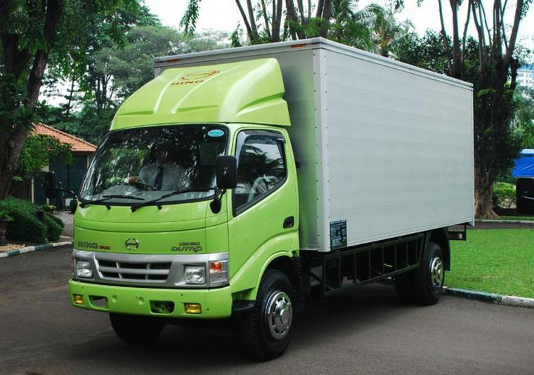 Front Left Hino Dutro 130 MDL Truck Picture