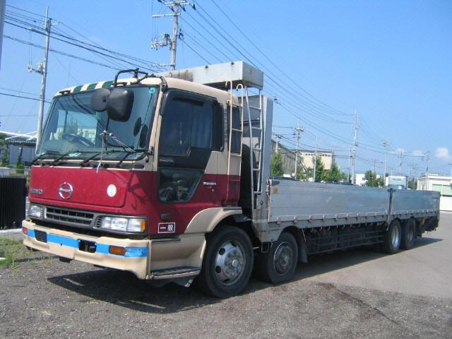 Hino Flatbed Truck Picture