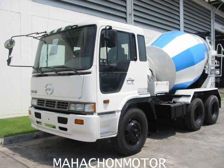 Front Left Hino 10 Wheel Mixer Truck Picture
