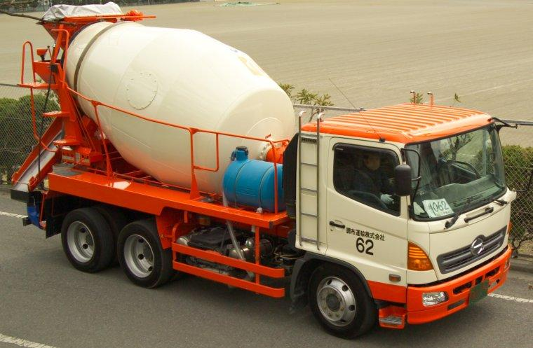 2006 Hino Cement Mixer Truck Picture