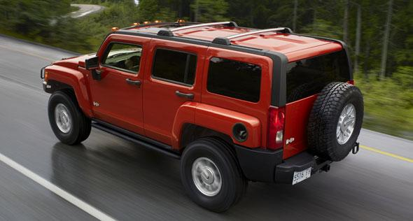 2008 Hummer H3 Truck Picture