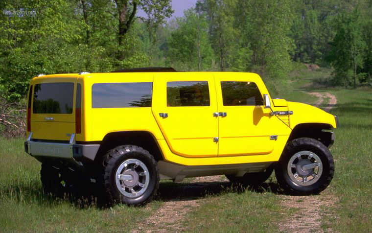 2002 Hummer H2 Concept SUV Picture