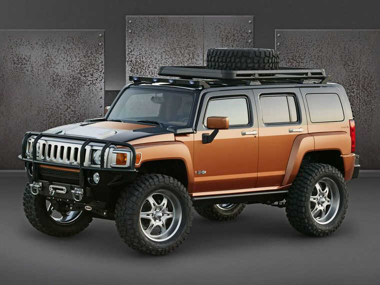 2005 Hummer H3 Rugged SUV Picture