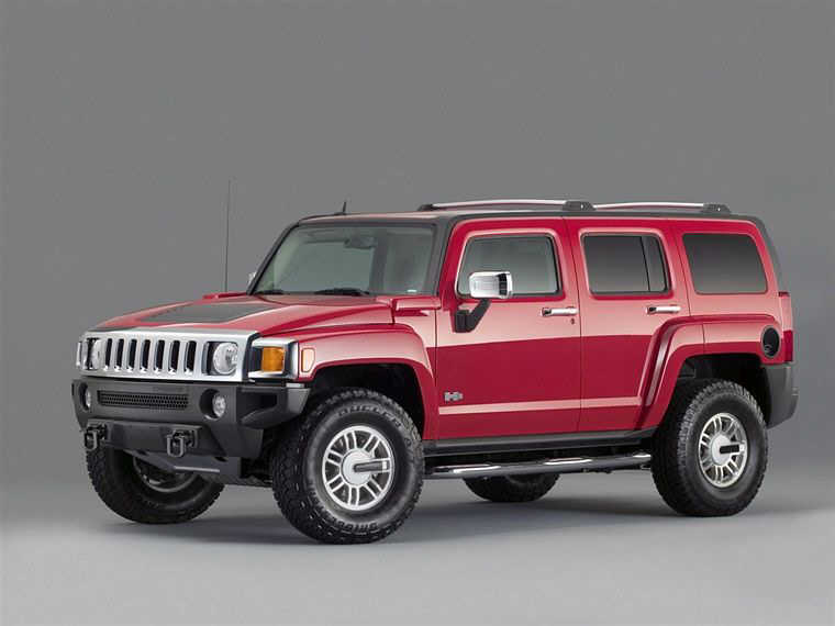 2006 Hummer H3 Truck Picture