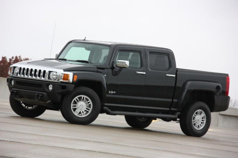 Front Left 2009 Hummer H3T Truck Picture