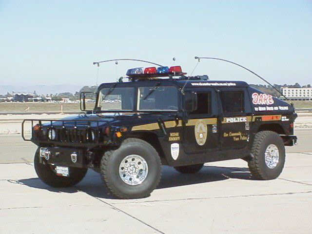 1987 Hummer Police Truck Picture