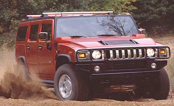 2003 Hummer H2 SUV Picture