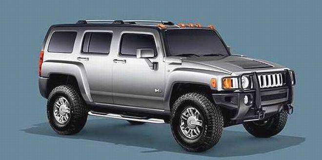 2007 Hummer H3 SUV Picture