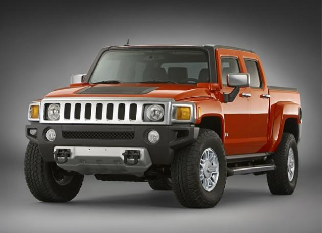 2009 Hummer H3T Truck PIcture