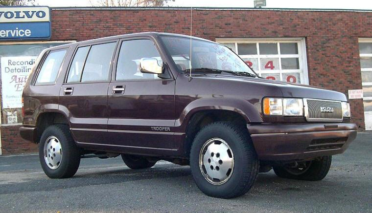 Front Right 1993 Isuzu Trooper 734 SUV Picture