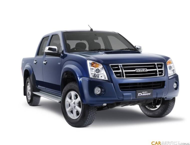 Front Right 2009 Isuzu D-Max Ute Truck Picture