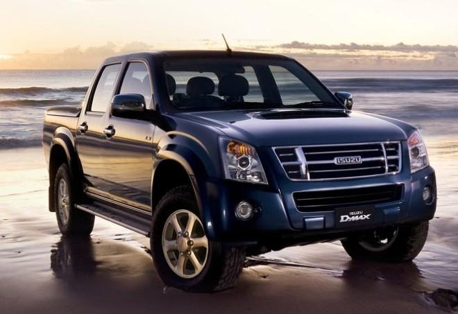 Front Right 2009 Isuzu Dmax Truck picture