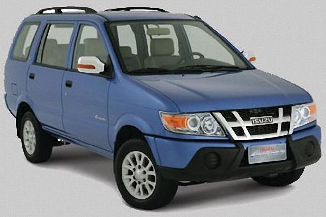 Front Right Blue 2010 Isuzu Crosswind CUV Picture